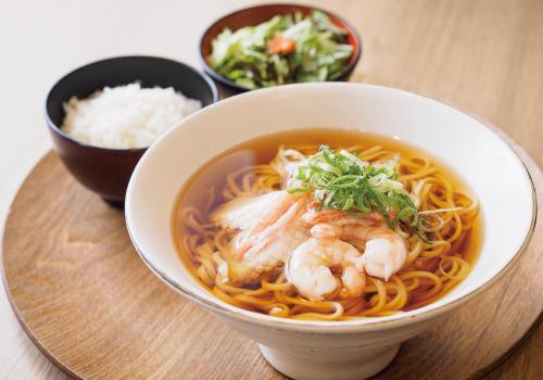 海鮮ラーメン定食